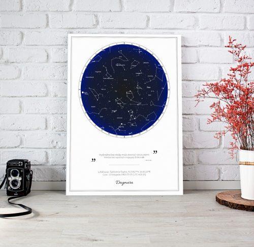 mapa nieba prezent