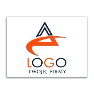 tabliczka firmowa z logo