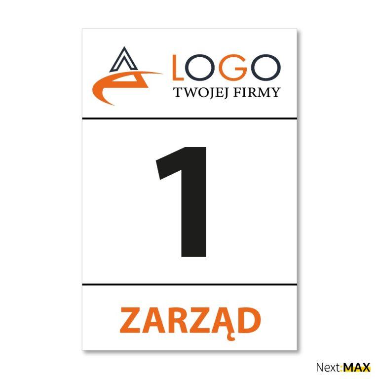 Logo + funkcja w firmie